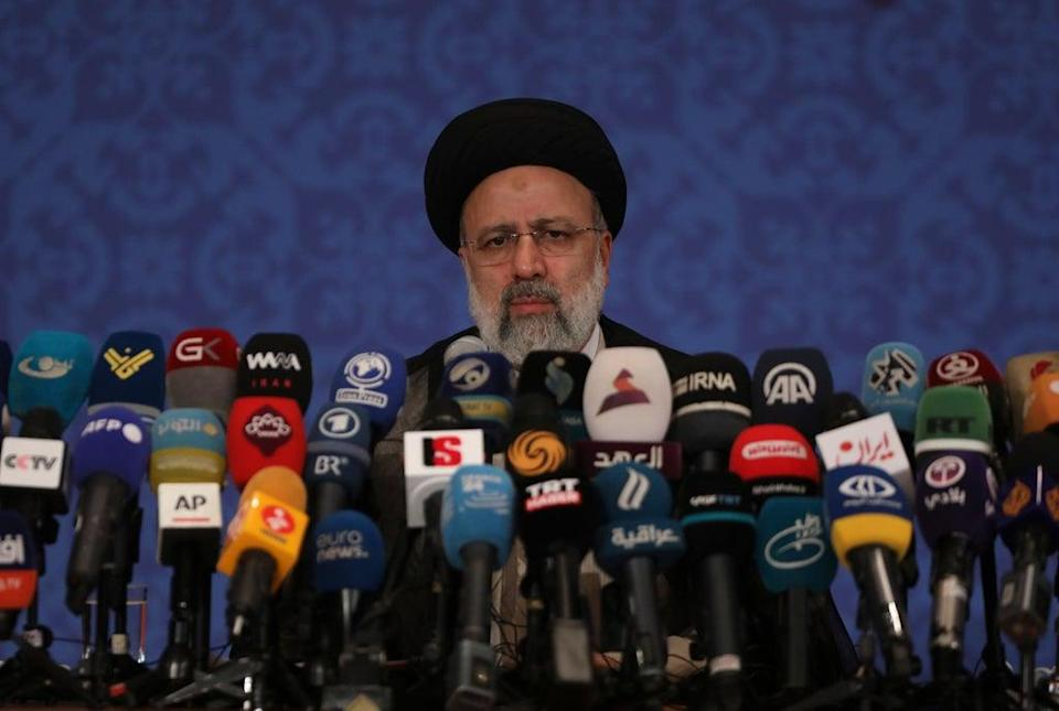 Police Scotland has been called on to launch a criminal investigation into Ebrahim Raisi into accusations of alleged genocide  (AP)