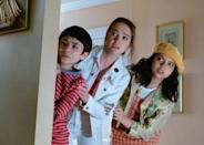 "<p>The premise of <strong>The Sleepover</strong> revolves around Margot's past as a criminal. Throughout the movie, viewers see Margot telling her kids that she spent her childhood in the library. She's also a strict parent in the sense that she won't allow her teenage daughter, Clancy, to have a cell phone. </p> <p>Upon learning the truth about their mother, Clancy and Kevin become concerned and confused about their mom's past. Although most viewers probably haven't been caught up in a serious criminal enterprise, don't be surprised if your kiddos ask if you've ever done anything bad before!</p> <p>Related: <a href=""https://www.popsugar.com/family/freeform-disney-movie-marathon-47687165?utm_medium=partner_feed&utm_source=yahoo_publisher&utm_campaign=related%20link"" rel=""nofollow noopener"" target=""_blank"" data-ylk=""slk:Whether You Have Disney+ or Not, You Won't Wanna Miss Freeform's Disney Marathons in September"" class=""link rapid-noclick-resp"">Whether You Have Disney+ or Not, You Won't Wanna Miss Freeform's Disney Marathons in September</a></p>"