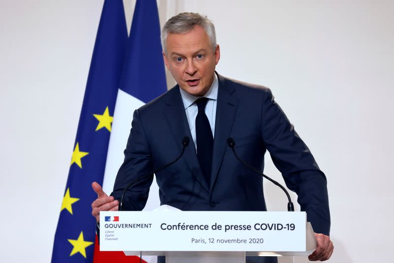 French PM Castex holds COVID-19 news conference