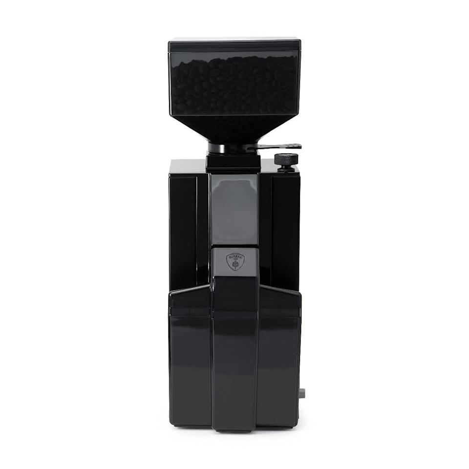 """<h2>Best Espresso Coffee Grinder</h2><br><h3>Eureka Notte Coffee Grinder</h3><br>The price of Eureka's bean machines can skyrocket into the thousands, and for good reason — those professional-grade coffee grinders can make a mean cup of Joe. However, to make a simple but a great cup of espresso (for under $1,000 at that), we suggest the brand's fine grinding rave-reviewed machine, The Notte. <br><br><strong>Type:</strong> Burr<br><br><strong>The Hype</strong>: 4.7 out of 5 stars and 202 ratings on <a href=""""https://amzn.to/3jF6VPk"""" rel=""""nofollow noopener"""" target=""""_blank"""" data-ylk=""""slk:Amazon"""" class=""""link rapid-noclick-resp"""">Amazon</a><br><br><strong>Rise & Grinders say:</strong> """"The Notte has a very nice adjustment nob that's not super loose, but stiff enough to retain its setting and make minute adjustments to grind. Perfect for espresso, and also has the capabilities to do larger grinds if needed.""""<br><br><em>Shop <a href=""""https://amzn.to/3jF6VPk"""" rel=""""nofollow noopener"""" target=""""_blank"""" data-ylk=""""slk:Amazon"""" class=""""link rapid-noclick-resp""""><strong>Amazon</strong></a></em><br><br><strong>Eureka</strong> Eureka Mignon Crono Coffee Grinder (Black Smoke), $, available at <a href=""""https://amzn.to/3BL44KZ"""" rel=""""nofollow noopener"""" target=""""_blank"""" data-ylk=""""slk:Amazon"""" class=""""link rapid-noclick-resp"""">Amazon</a>"""