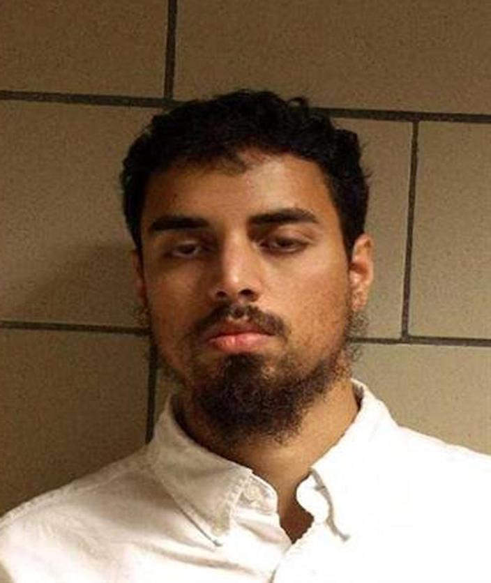This booking photo courtesy of the US Department of Justice shows suspect Rezwan Ferdaus on October 28, 2011 (AFP Photo/)