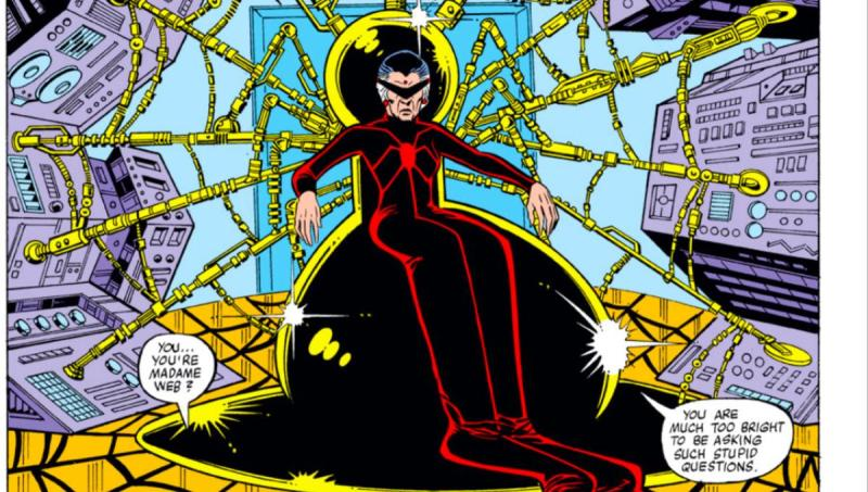 Madame Web (Credit: Marvel Comics)