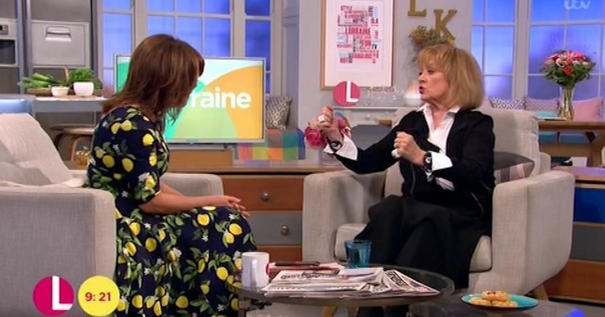 Amanda admitted she had fallen sick while filming abroad for The Real Marigold Hotel (Copyright: ITV)
