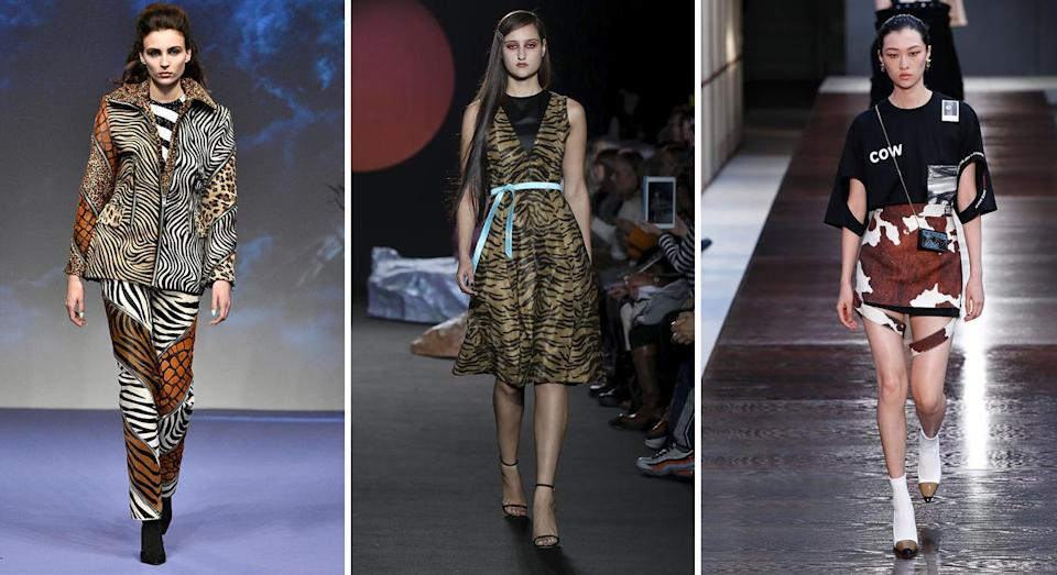 <p>An abundance of animal prints prowled the streets of London this season and by the looks of the SS19 runways, they're not going anywhere anytime soon. Hallelujah for those of us who've already purchased that Réalisation Par number… <em>[Photo: Getty]</em> </p>
