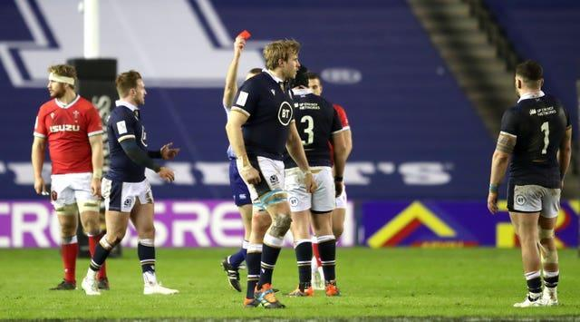 Zander Fagerson's dismissal was the turning point for Scotland
