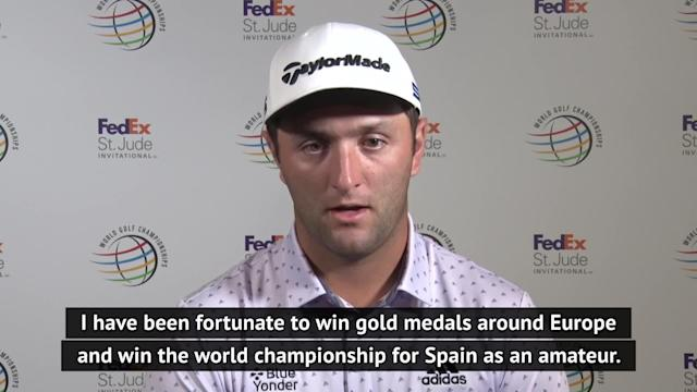 Jon Rahm hopes he can represent Spain at the Olympics and that playing golf there will become the 'pinnacle'.