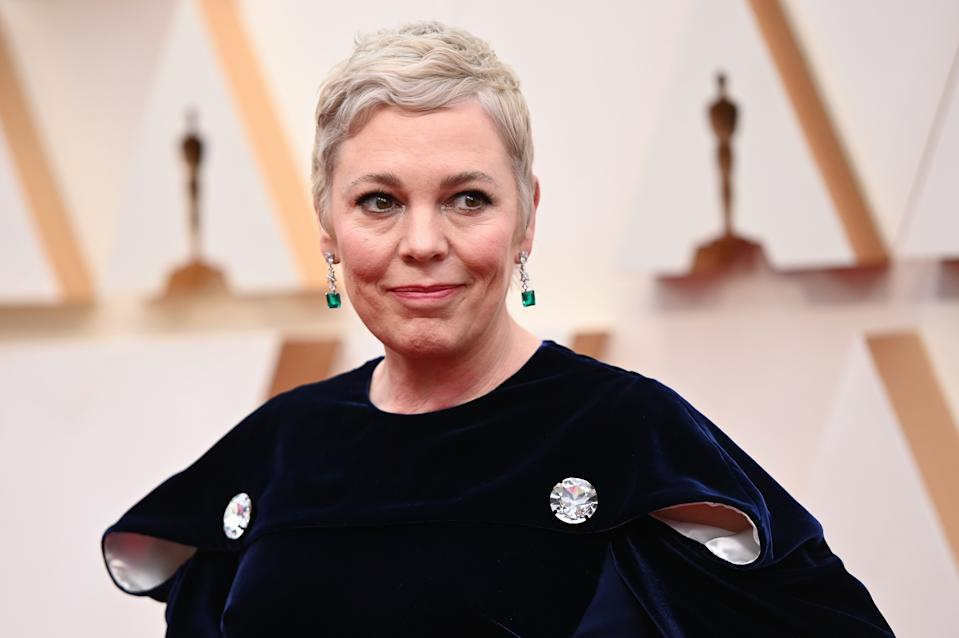 British actress Olivia Colman arrives for the 92nd Oscars at the Dolby Theatre in Hollywood, California on February 9, 2020. (Photo by Robyn Beck / AFP) (Photo by ROBYN BECK/AFP via Getty Images)