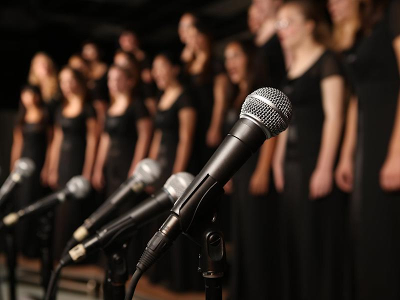 Singing may be no more of an infection risk than speaking, new research indicates: Getty