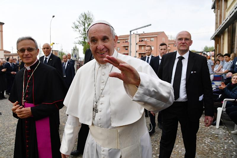 Pope Francis urges people to pray for peace in the Democratic Republic of Congo