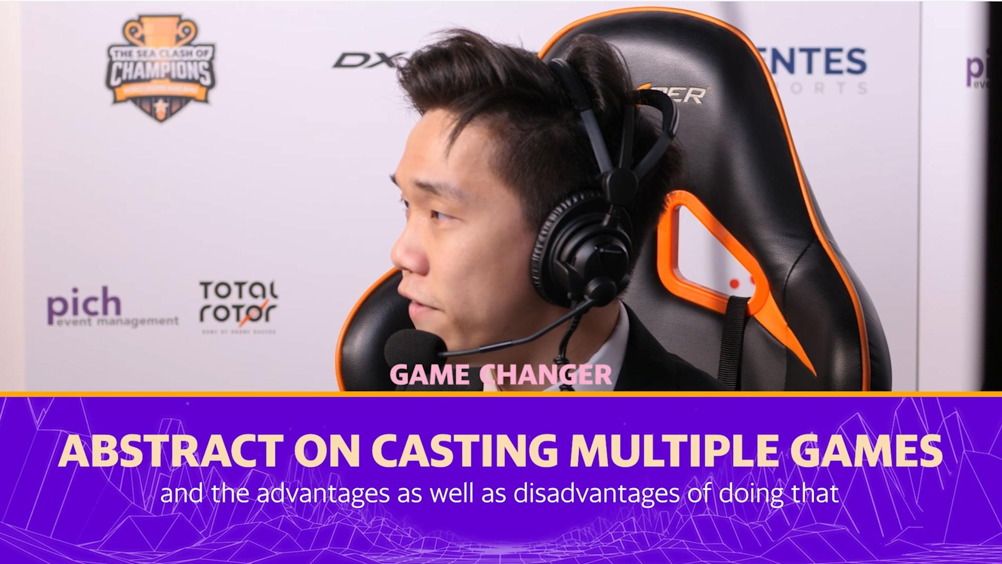 Abstract on casting multiple games - Game Changer Extra thumbnail