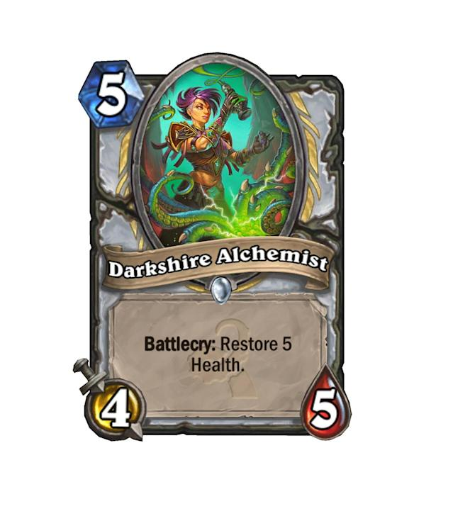 <p>Looks like Blizzard did some…alchemy…to combine an Antique Healbot with a Chillwind Yeti into what is likely to become a Priest staple.</p>