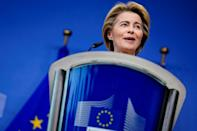 European Commission President Ursula von der Leyen has said rules are needed to ward off abuses in the artificial intelligence sector