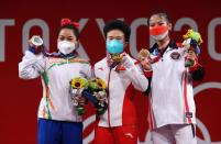 Weightlifting - Women's 49kg - Medal Ceremony