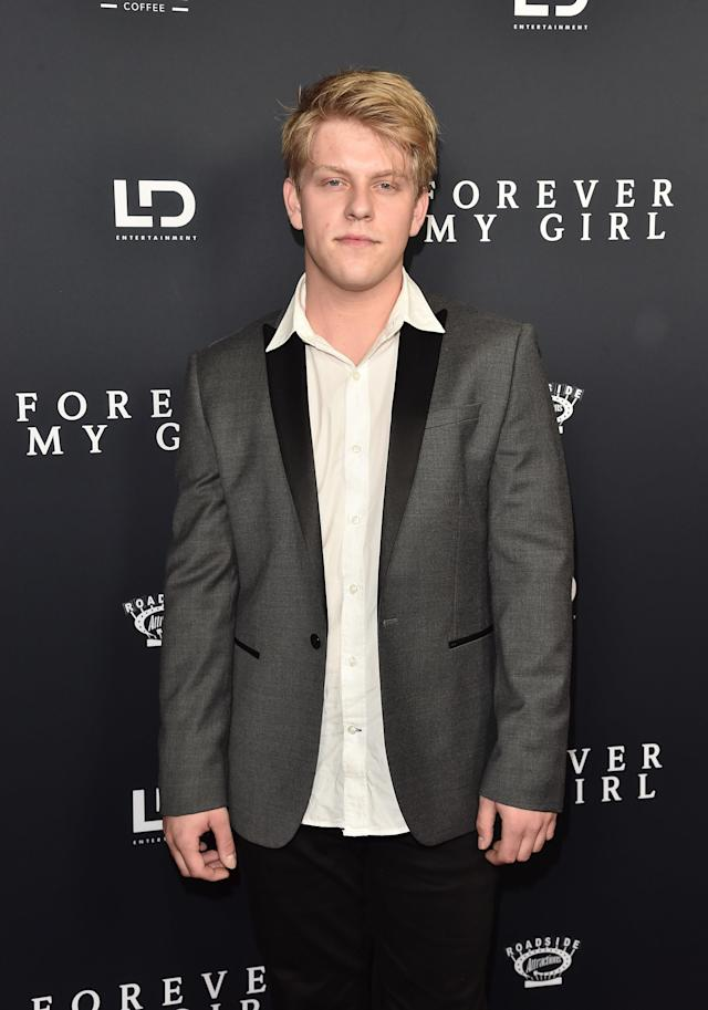 Jackson Odell attends the premiere of Roadside Attractions'  <em>Forever My Girl</em> at the London West Hollywood on Jan. 16, 2018, in West Hollywood, Calif. (Photo: Alberto E. Rodriguez/Getty Images)