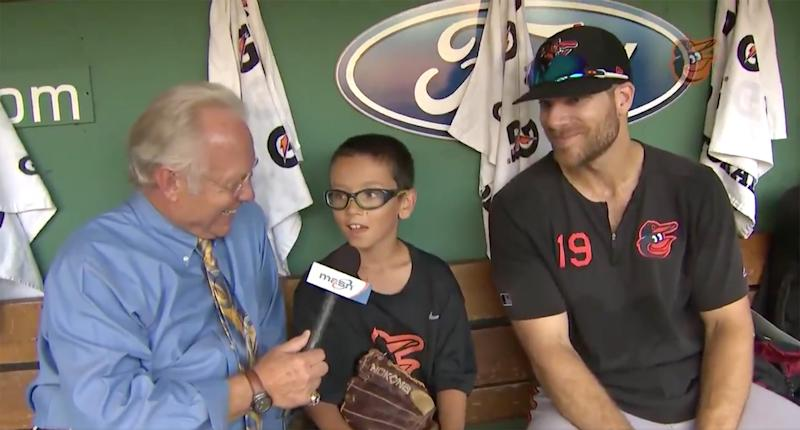 Boy Meets Orioles Player After Sending Him Supportive Letter: 'Everyone Goes Through a Slump'