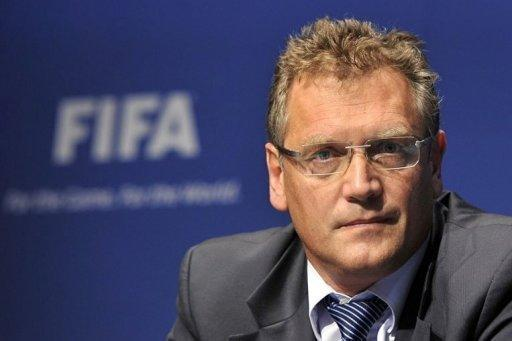FIFA chief Jerome Valcke