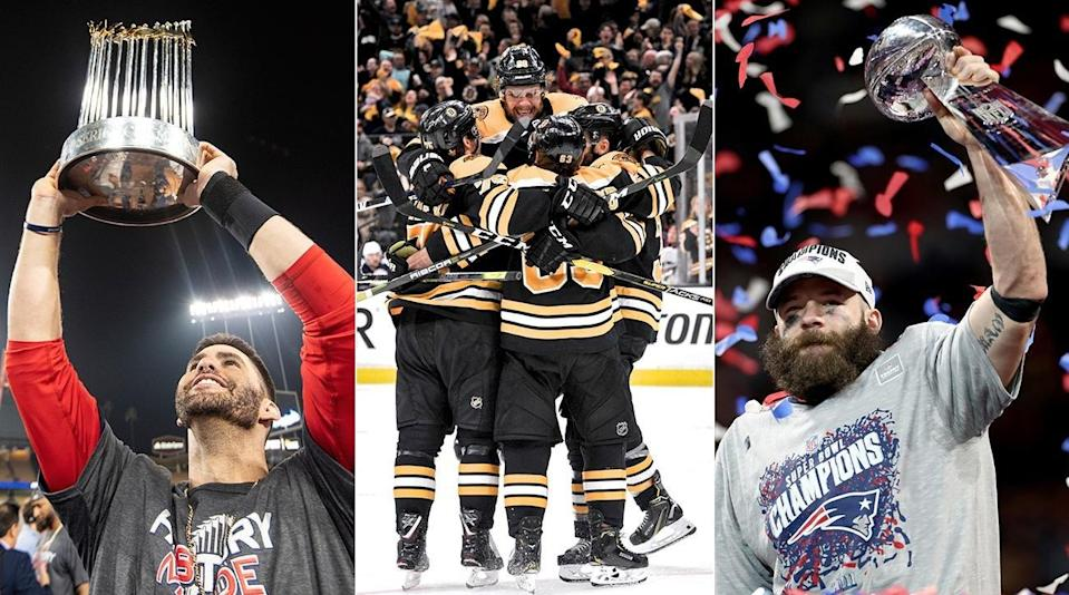 The Elusive Triple Has Been Completed Just Twice Before—Will Boston Be the Third?