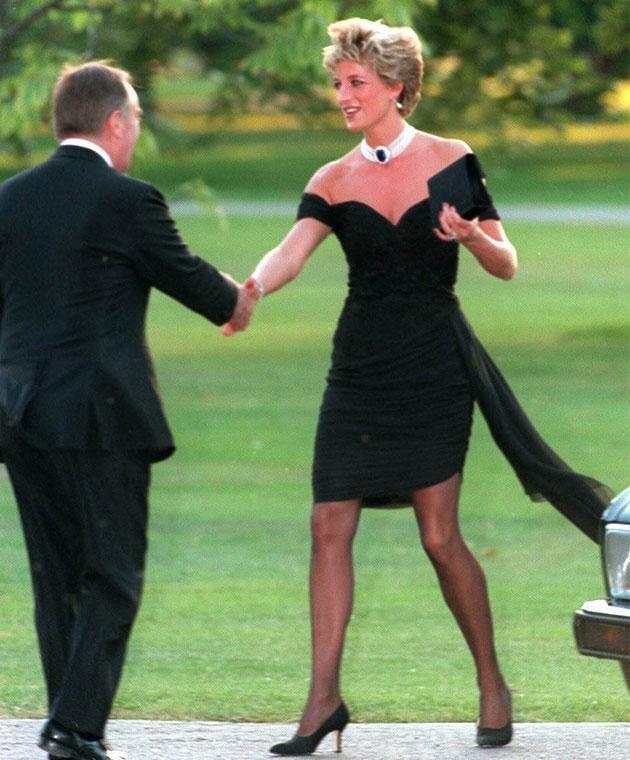 The LBD became one of Diana's most famous looks. Photo: Getty
