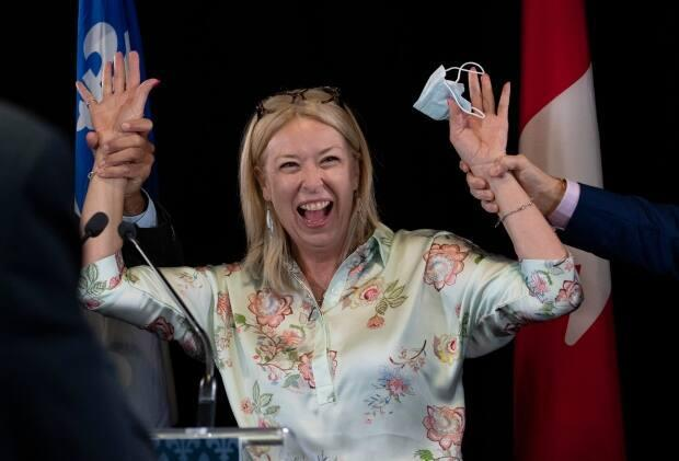 Quebec's former Labour Minister Dominique Vien is headed to Ottawa for the first time. (Jacques Boissinot/The Canadian Press - image credit)
