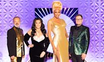 RuPaul finally brought <em>Drag Race</em> across the pond to give the UK's talent a go – on the BBC no less – and the results certainly didn't disappoint. The UK queens came charging into the workroom all brash and bawdy with <em>EastEnders</em> and Kim Woodburn references aplenty – a breath of fresh air after the US series began to feel tired after 11 series and numerous spin-offs. The debut proved to be such a success, the show will be back next year. (BBC/World of Wonder/Guy Levy)