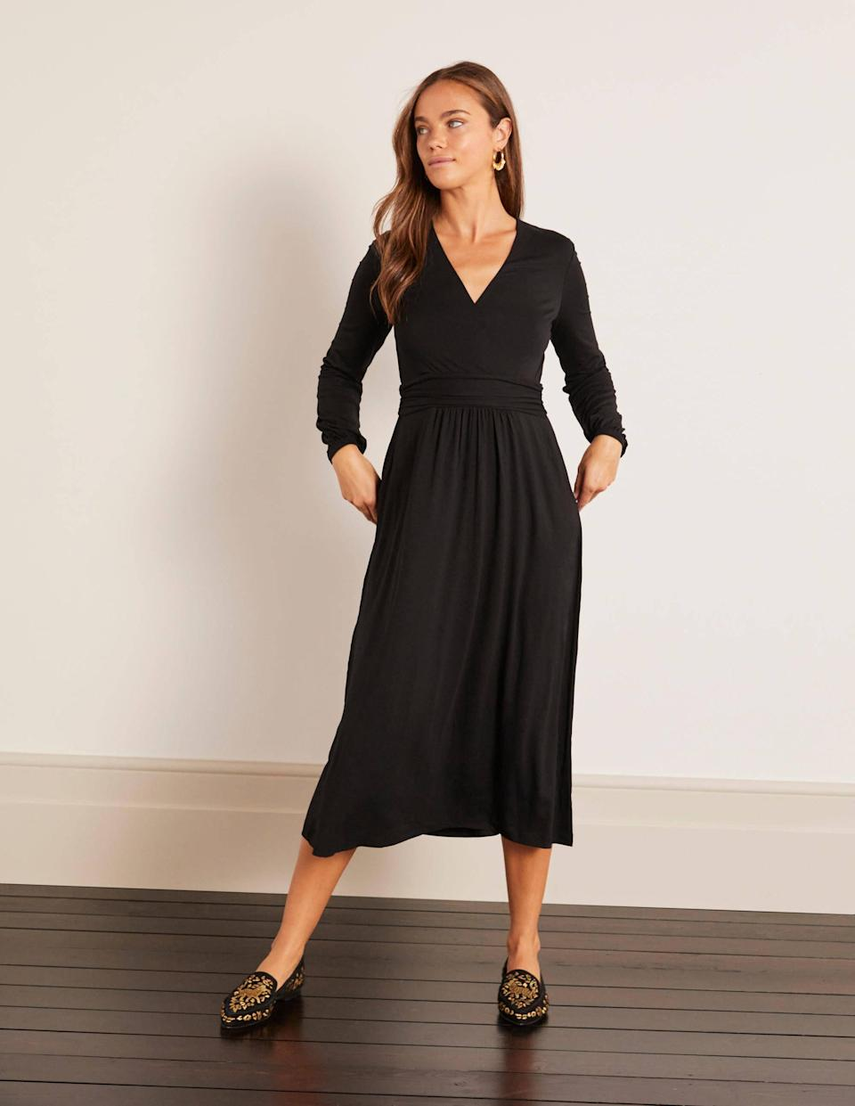 Hayden Jersey Dress. (Boden)