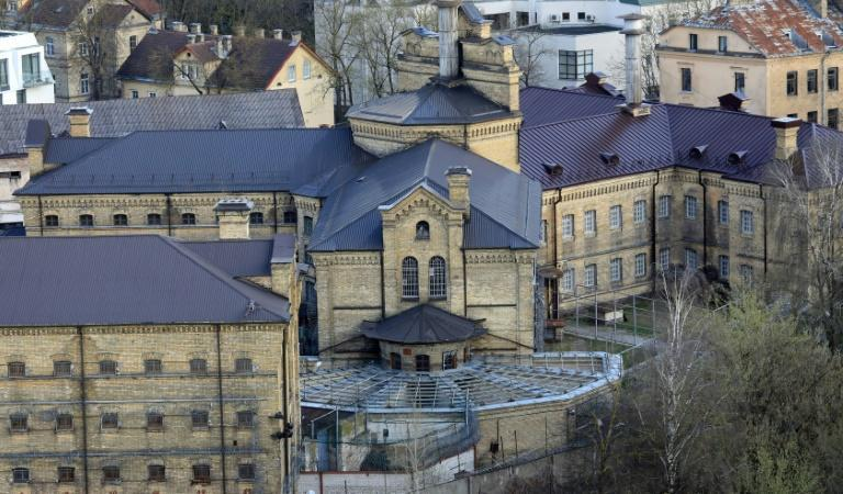 """The former Lukiskes prison was used as a set in the filming of Netflix drama """"Stranger Things"""""""