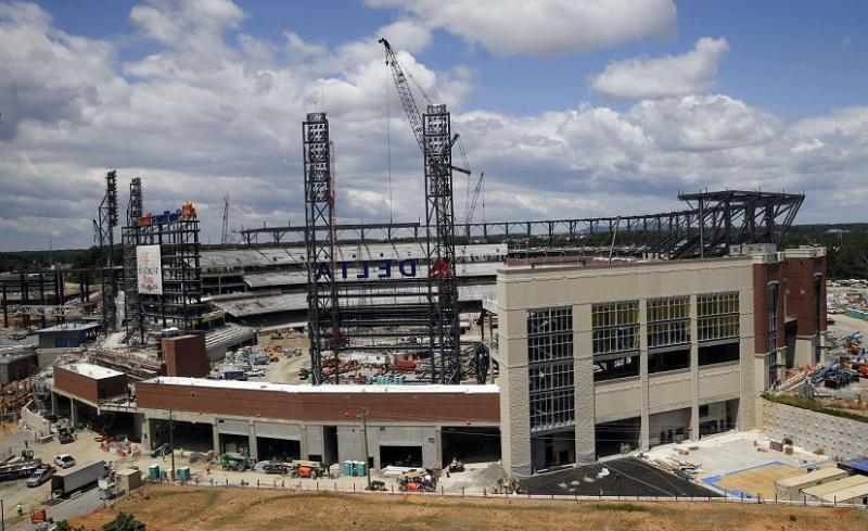 SunTrust Park Will Soon Be Home To The Atlanta Braves And Innovative Marketing Idea By Mizuno