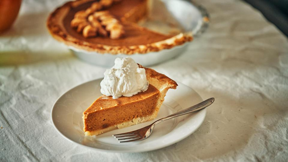 Homemade Pumpkin Pie for the Holidays.