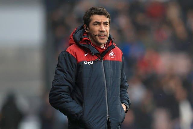 Bruno Lage during his time at Swansea