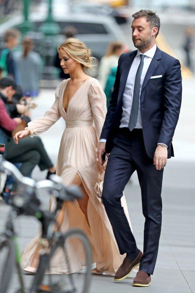 Inside Jennifer Lawrence's Engagement Party With Fiance ...