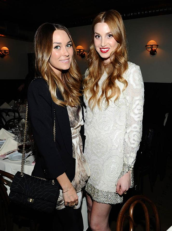 "Former ""Hills"" stars and besties Lauren Conrad and Whitney Port both want a future for themselves in the fashion industry. LC, 25, designs pretty, flirty creations for LC by Lauren Conrad for Kohl's department stores and for her new upscale line Paper Crown -- the one she planned to film for an MTV reality series that the network eventually rejected. Whitney, however, debuted her own line of whimsical garments, Whitney Eve, as was chronicled in her now canceled reality series ""The City."" Do you think lines from the two are here to stay? Michael Buckner/<a href=""http://www.wireimage.com"" target=""new"">WireImage.com</a> - March 10, 2011"