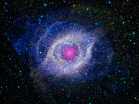 Giant Eye In Space Seen by NASA Telescopes