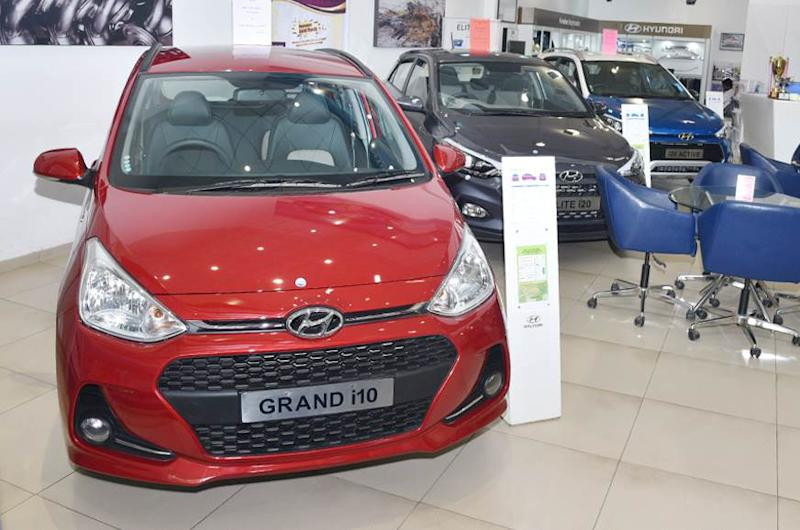 Save up to Rs 1.15 lakh off on the Hyundai Grand i10.