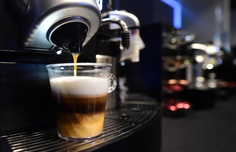 "At ""normal"" temperatures, there is evidence that coffee can lower the risk of cancer of the uterus, liver and breast, according to the IARC (AFP Photo/Frederic J. Brown)"