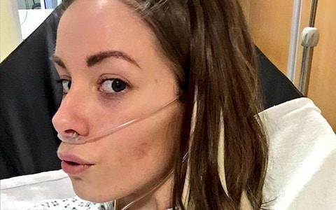 Kirstie Wilson back when she was in hospital before she tragically died - Credit: Kirstie Wilson/Twitter