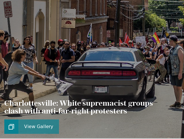 Charlottesville far-right protest