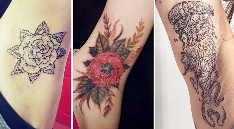 Secret Armpit Tattoos Are The Latest Ink Trend