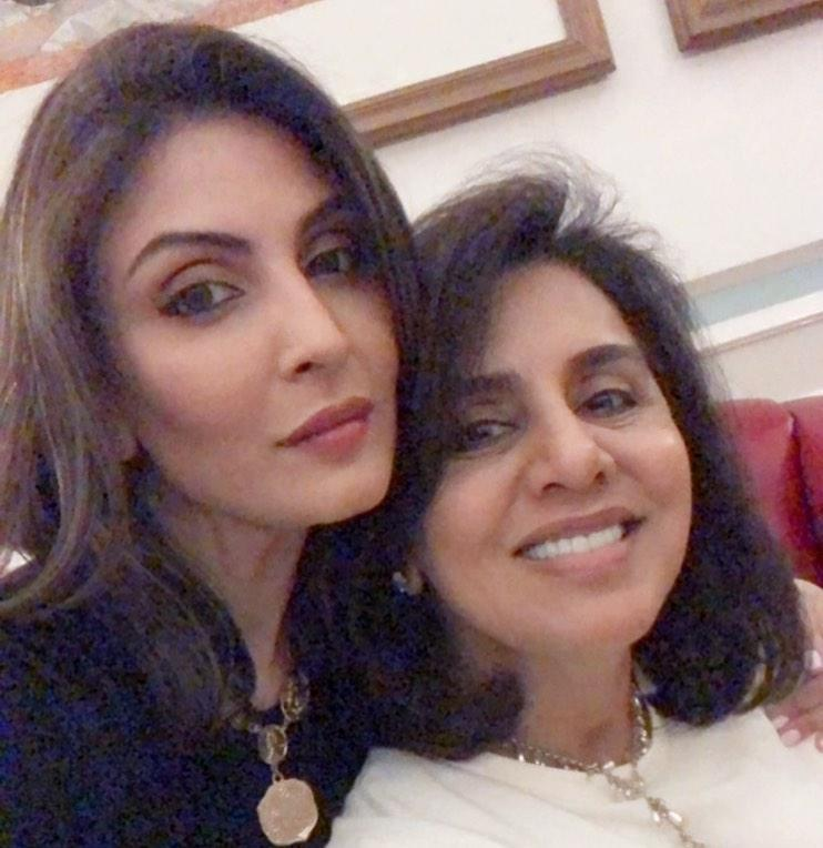 Neetu Kapoor and Riddhima Kapoor Sahni