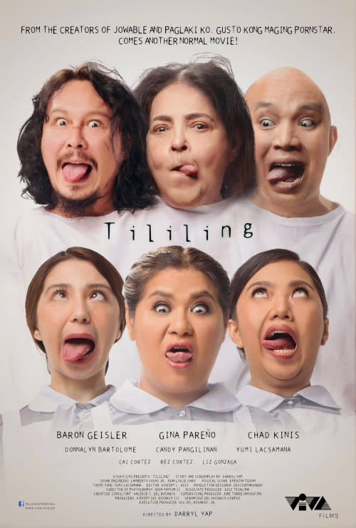 The poster for 'Tililing' that sparked the issue