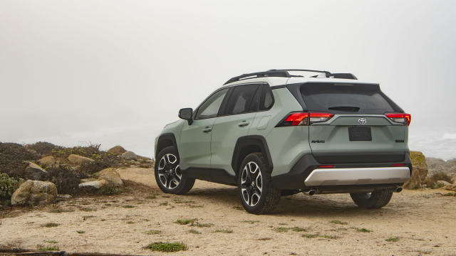 The most rugged of the different 2019 RAV4 models.