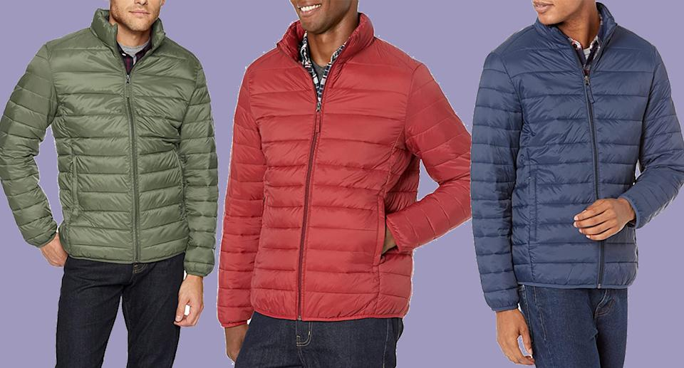 This bargain men's puffer jacket has over 10,000 reviews. (Amazon)