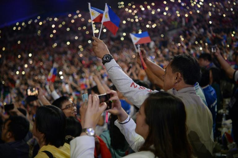 The storm entered Philippine territory Saturday evening, shortly before President Rodrigo Duterte and boxing superstar Manny Pacquiao launched the Games with a colourful opening ceremony