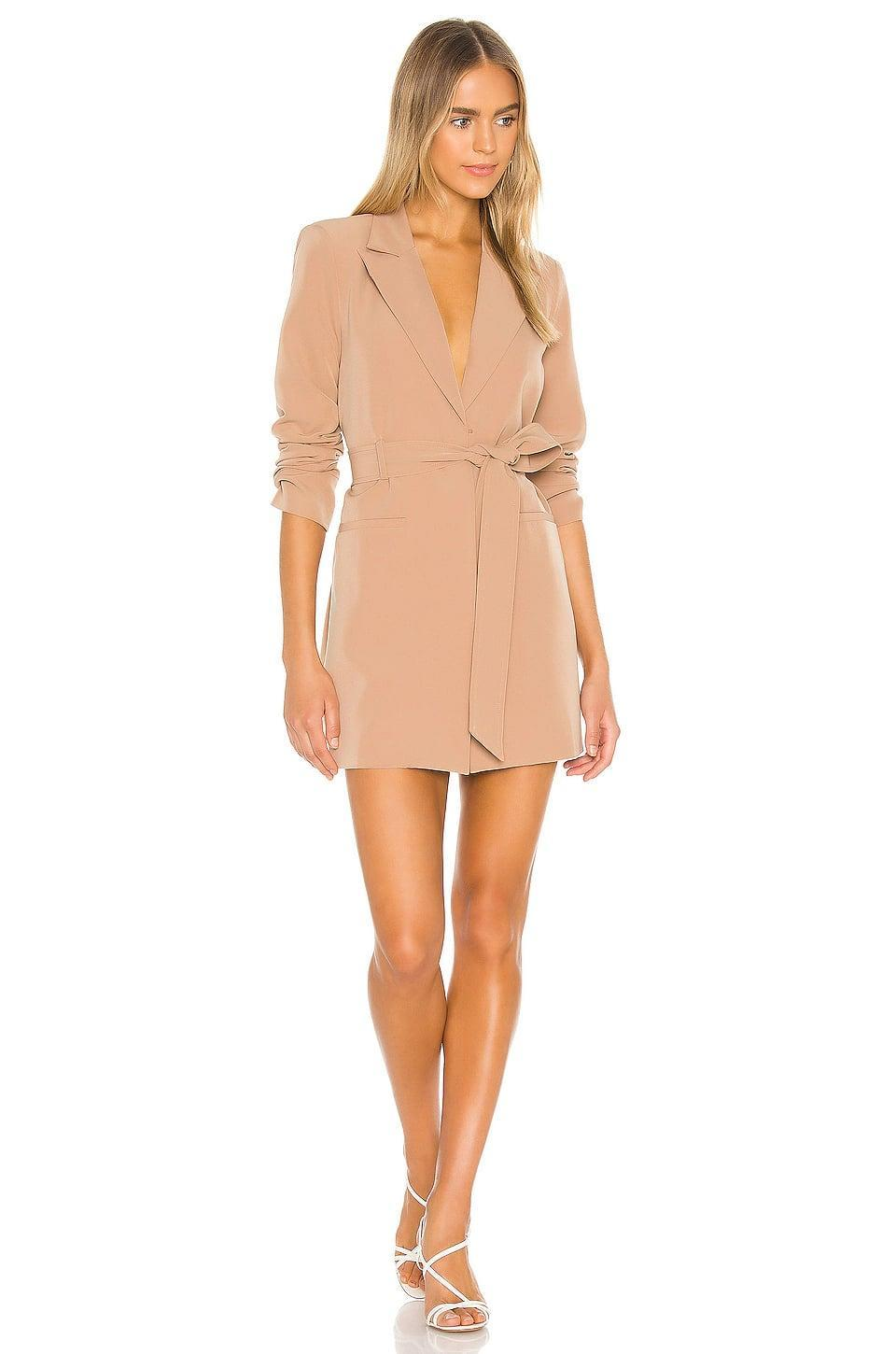 <p>This neutral <span>Camila Coelho Davide Blazer Dress</span> ($288) is so sexy and fun; it's perfect for summer nights out.</p>