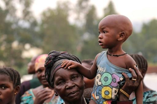 Displaced: A family in Bunia, capital of Ituri province