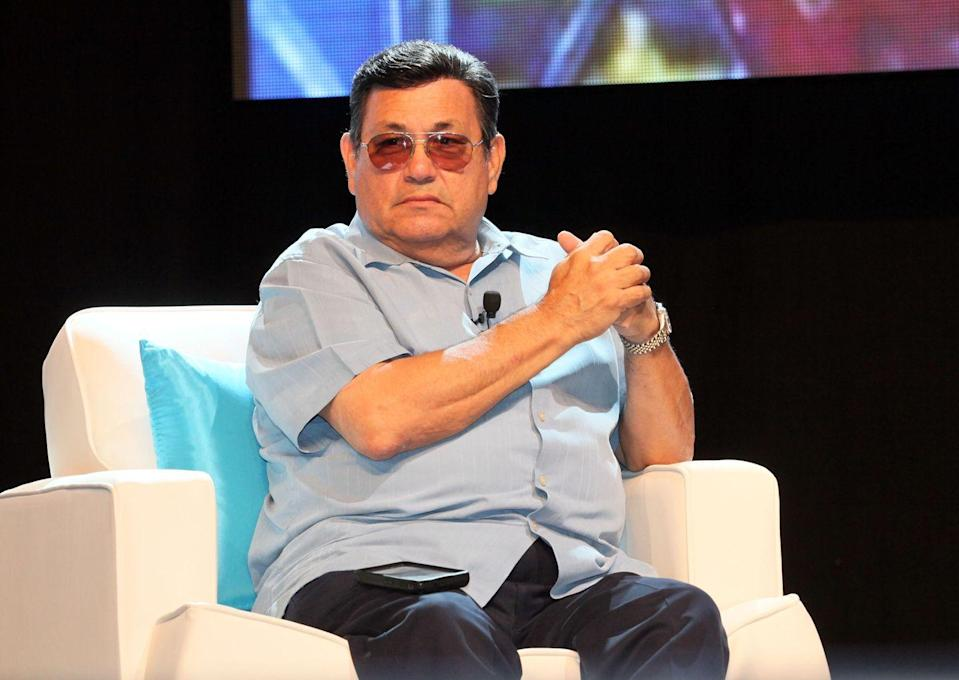 <p>Abraham Quintanilla is Selena's father, and he was a musician himself. When he was younger, he was in a band called Los Dinos, which was the inspiration for the band that started with his children and which later added more members. Abraham is now 81 years old and is one of the executive producers of <em>Selena: The Series</em>. He's pictured here in 2012. </p>