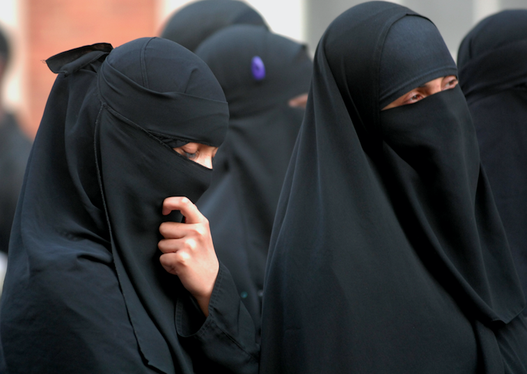 <em>Boris Johnson has hit back at calls for the burka to be banned in public places (Rex)</em>