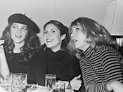 <p>Amy Irving, Carrie Fisher and Teri Garr, circa 1978.</p>