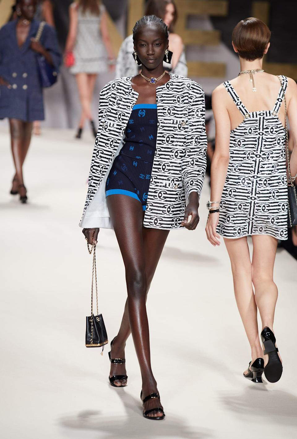 <p>Chanel just shut down every ribbed-knit look ever. This is the one that matters.</p>