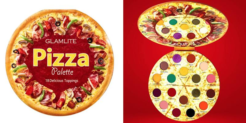 Glamlite Cosmetics Just Launched a Pizza Eye Shadow Palette