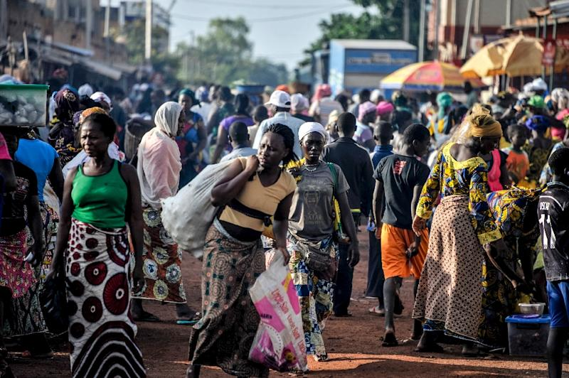 Women visit the market on September 19, 2015 in the capital Ouagadougou (AFP Photo/Ahmed Ouoba)